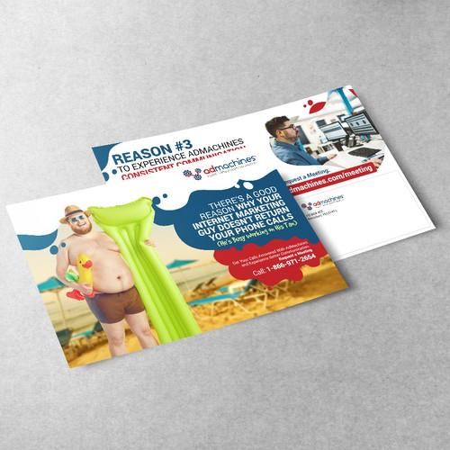 AdMachines (Postcard Design)
