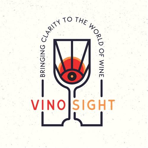 Logo concept for a wine education program