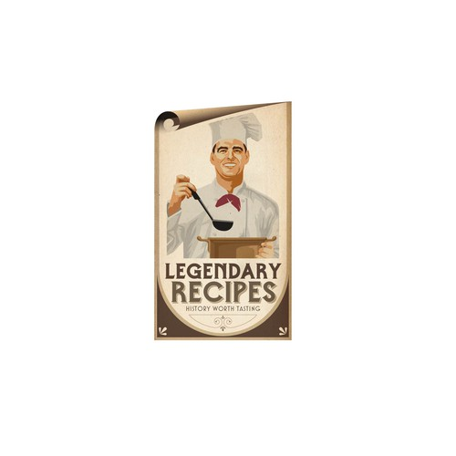 LOGO FOR NEW RECIPE WEBSITE—features legendary recipes, restaurant/hotel histories, nostalgic images