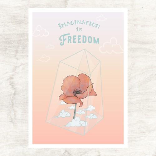 Lockdown postcard