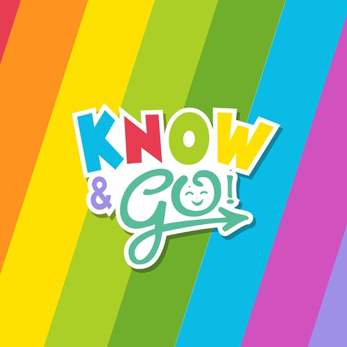 Colorful Logo for Know & Go
