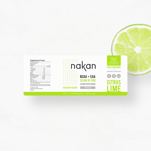 Nakan -  Recovery Blend