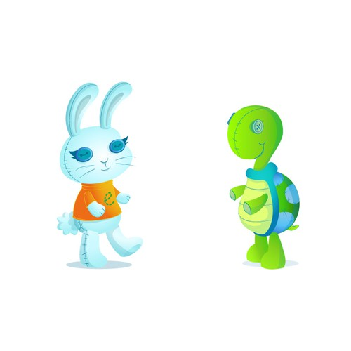 Hare and the Tortoise - Childcare Characters