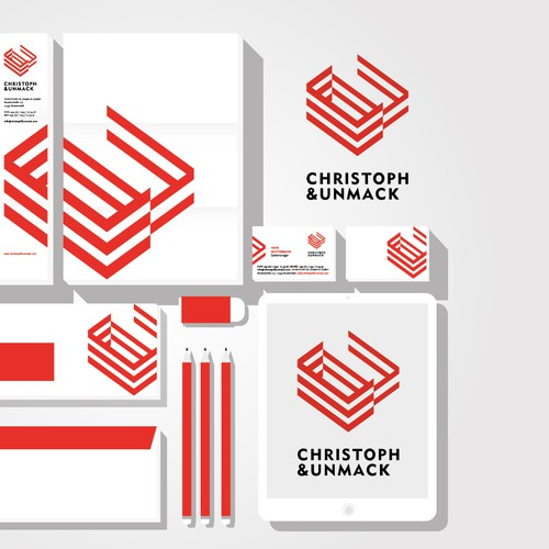 CI concept for an architecture agency