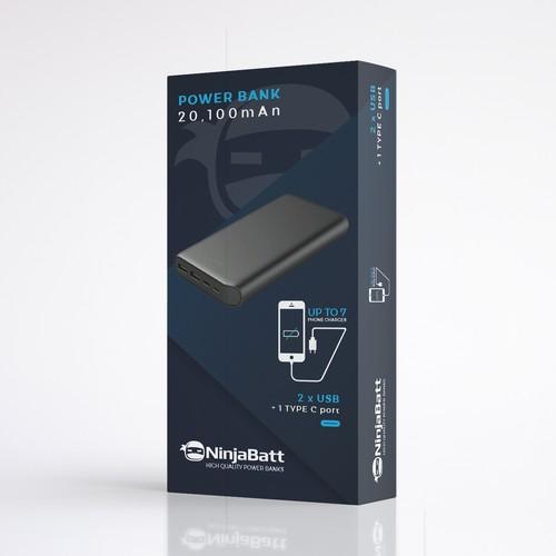 Power Bank packaging design