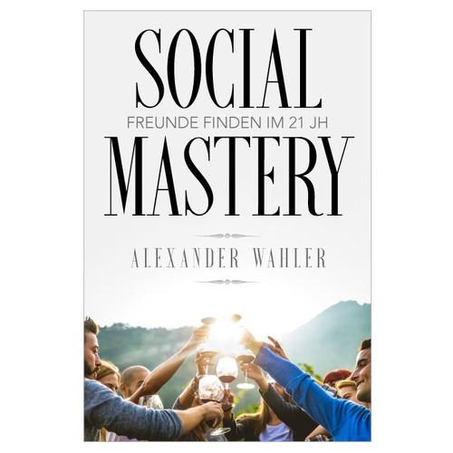 Social Mastery book cover design