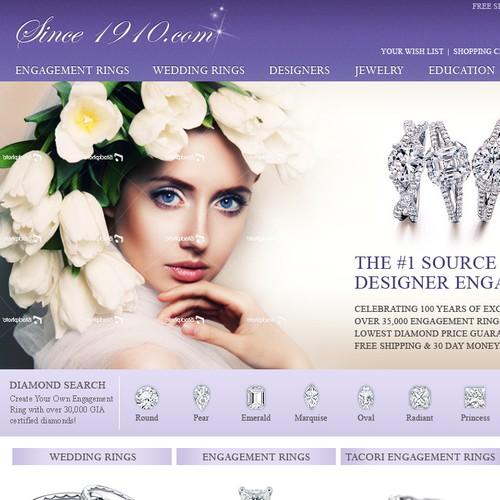 website design for Since1910.com