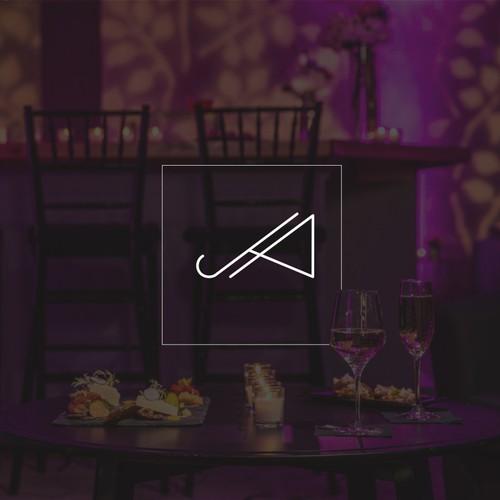 AJ / JA Logo Design