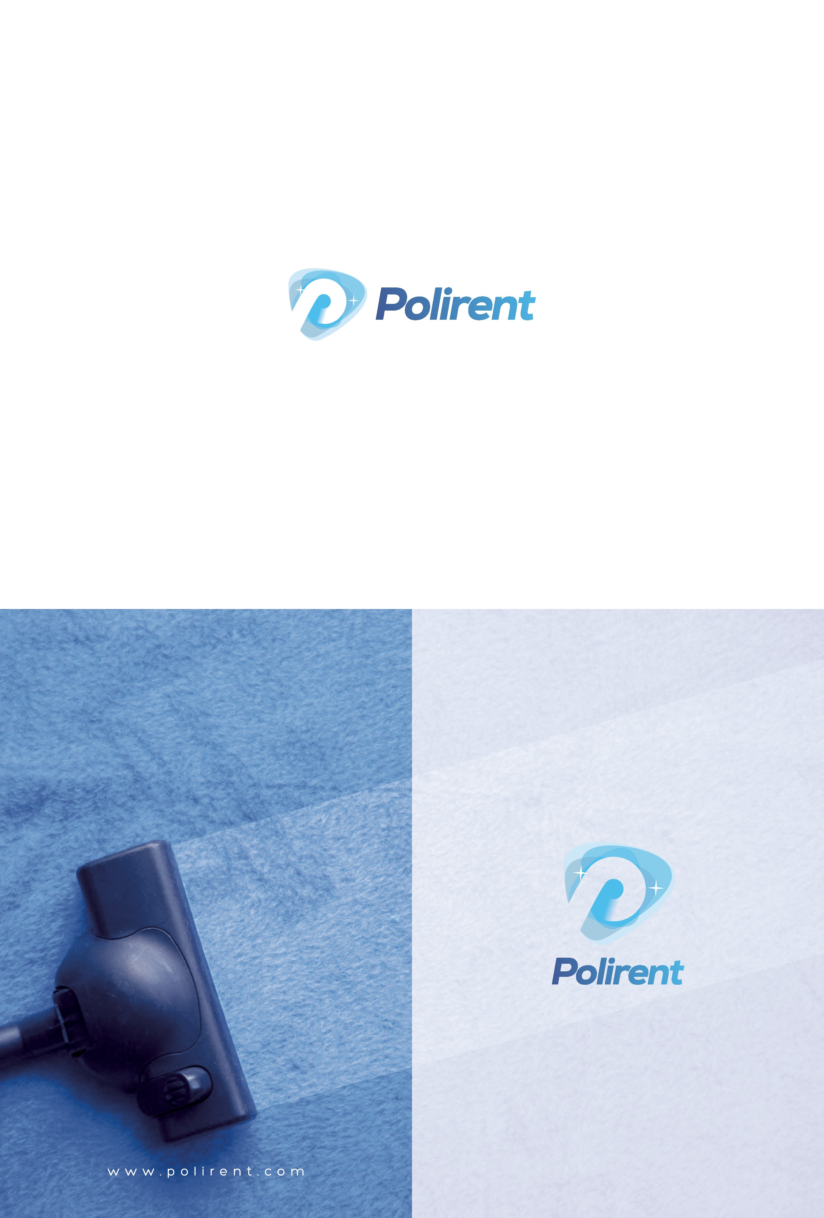Logo for a cleaning company