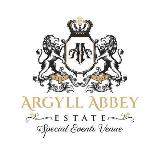 Luxury logo for Argyll Abbey Estate