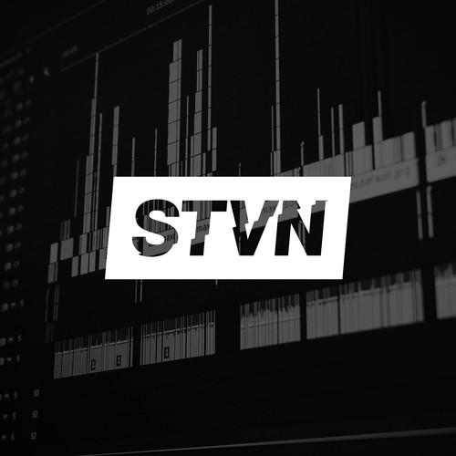 Bold and dynamic logo for STVN