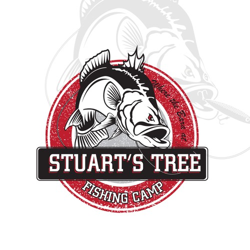 logo for fishing camp