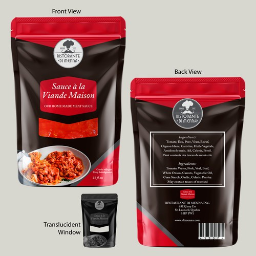 Meat Sauce Package