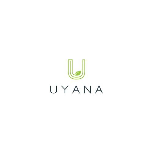 Modern minimalistic logo for Luxury Villa.