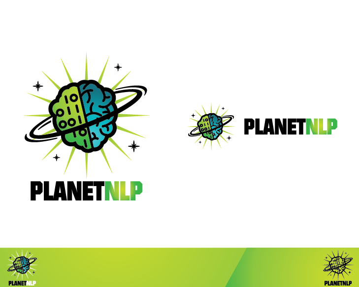 Create the next logo for PlanetNLP