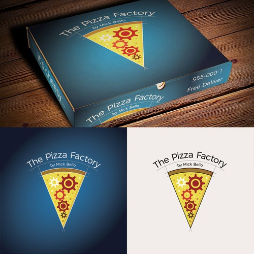 Logo design for a Pizza shop.