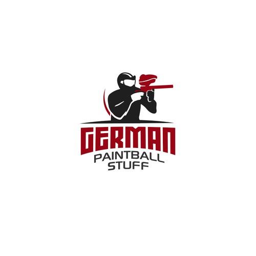 Logo for Paintball Stuffs