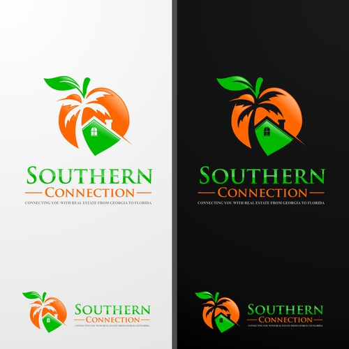 Cool logo concept for soutern connection