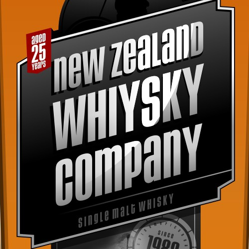 product label for New Zealand Whisky Company