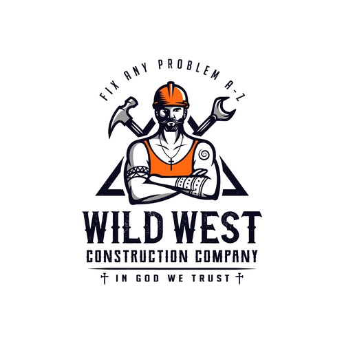 Masculine Brand Character Design for WILD WEST