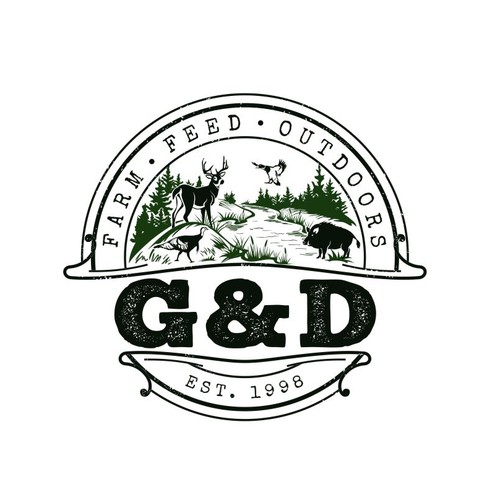 Outdoor store logo
