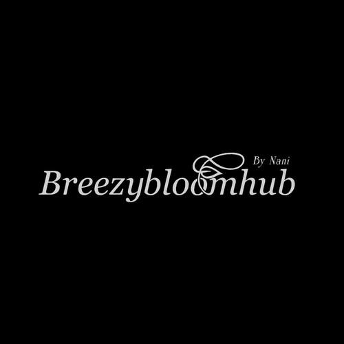 Breezybloomhub logo concept.