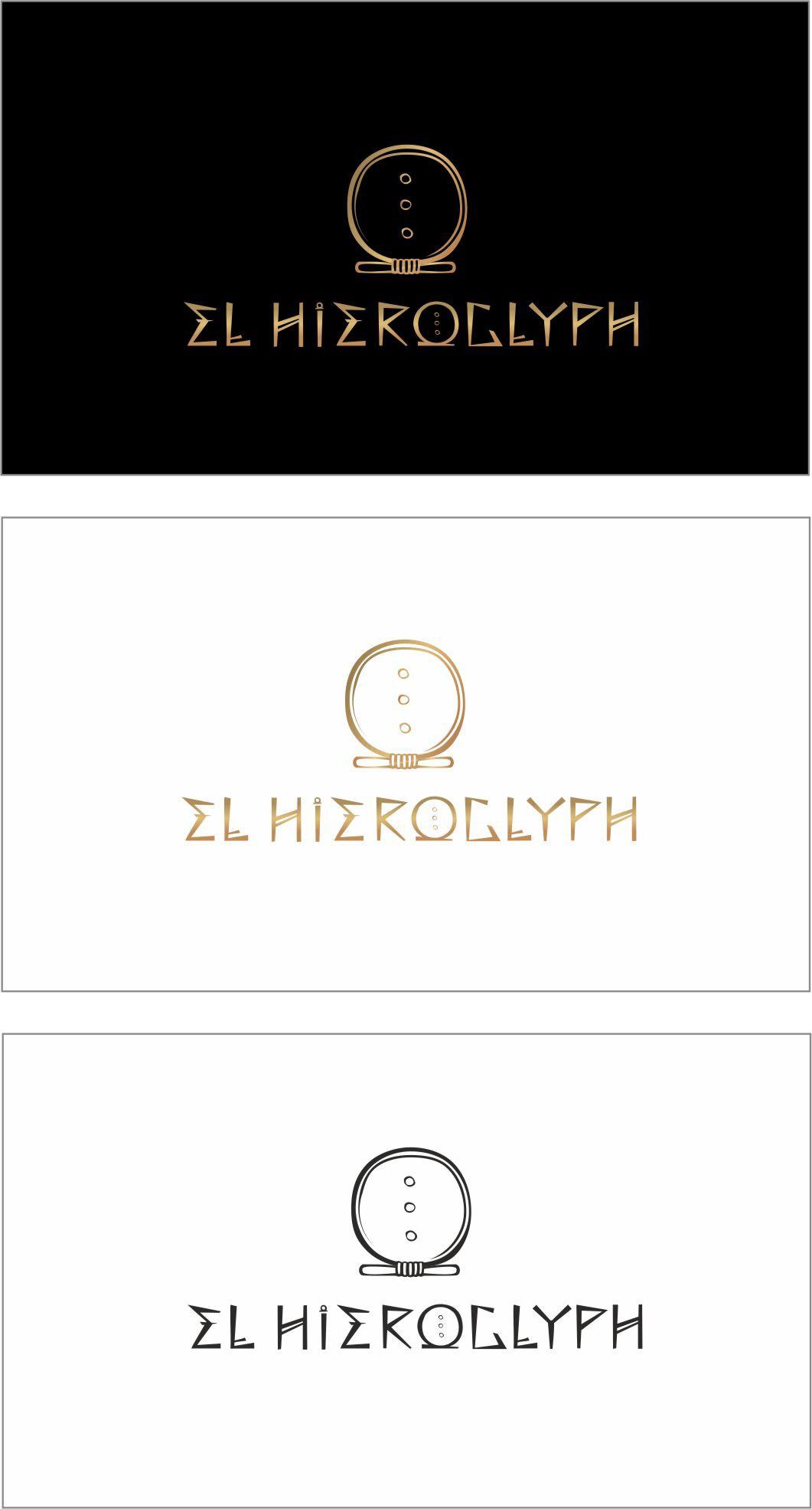 Create LUXURY Logo for EL HIEROGLYPH