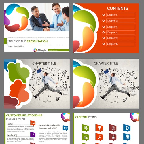 Create Modern, People-Oriented PowerPoint Template for a Consulting Company