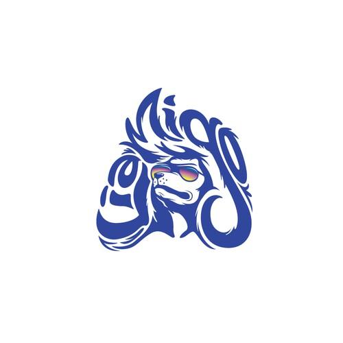 Liamigo Poodle Wordmark Design