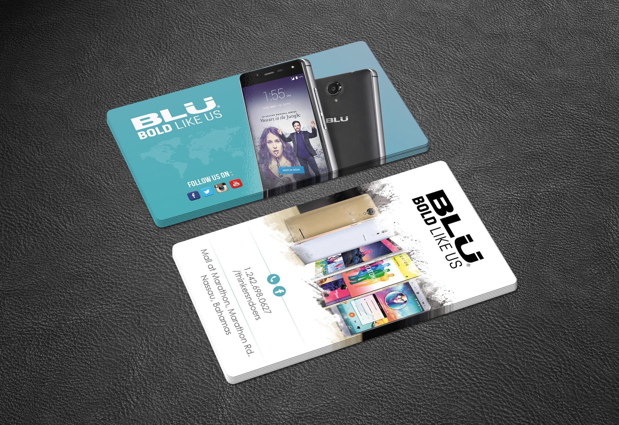 BLU retail Card