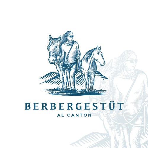"Logo Proposal for ""BERBERGESTÜT AL CANTON"""