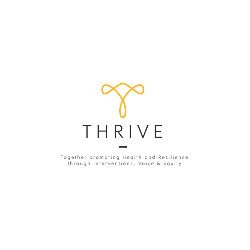 Simple Abstract T logo for Thrive