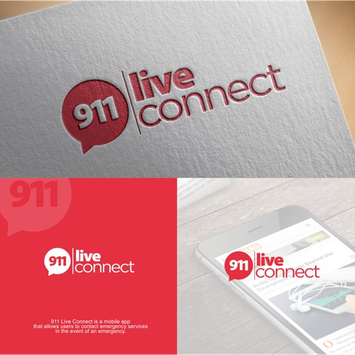 Logo for 911 live connect
