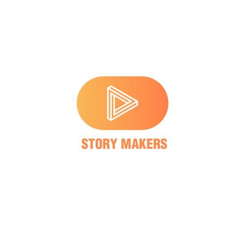 Minimalist logo foro video Art