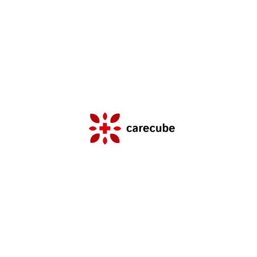 CareCube logo design