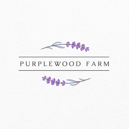 Logo for Lavander Farm Purplewood