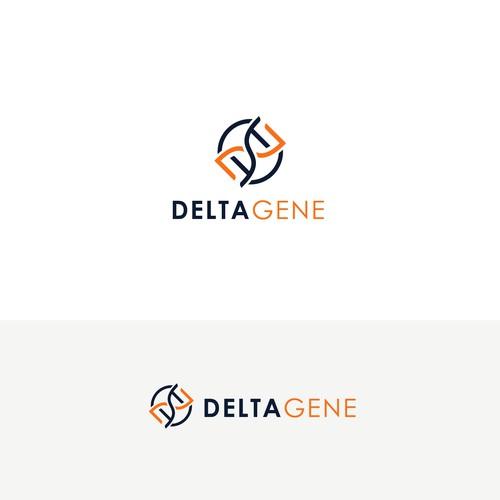 Bold Logo for Delta Gene