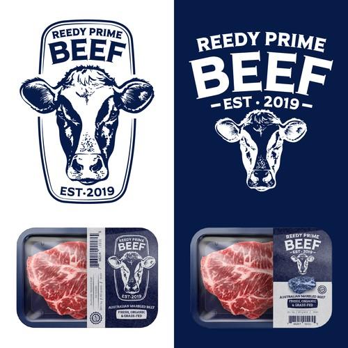 Reedy Prime Beef Logo Design
