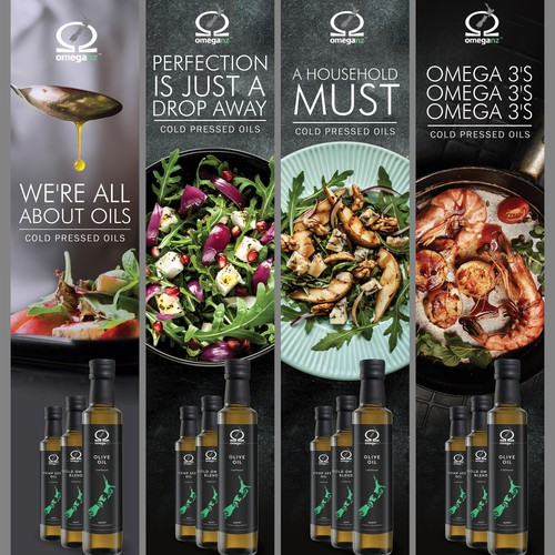 Ads for food magazine