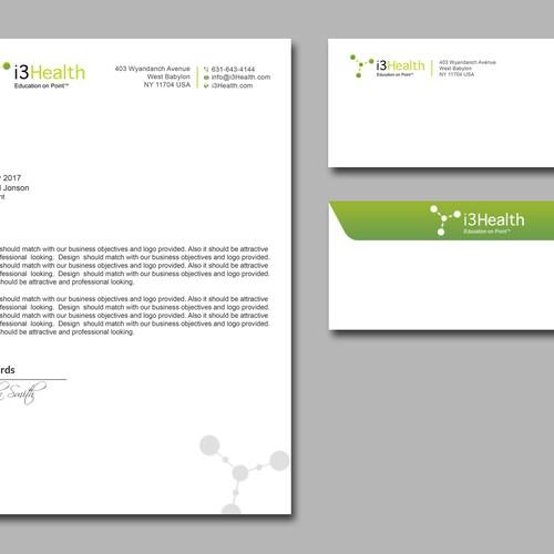 Letterhead and Envlope Design