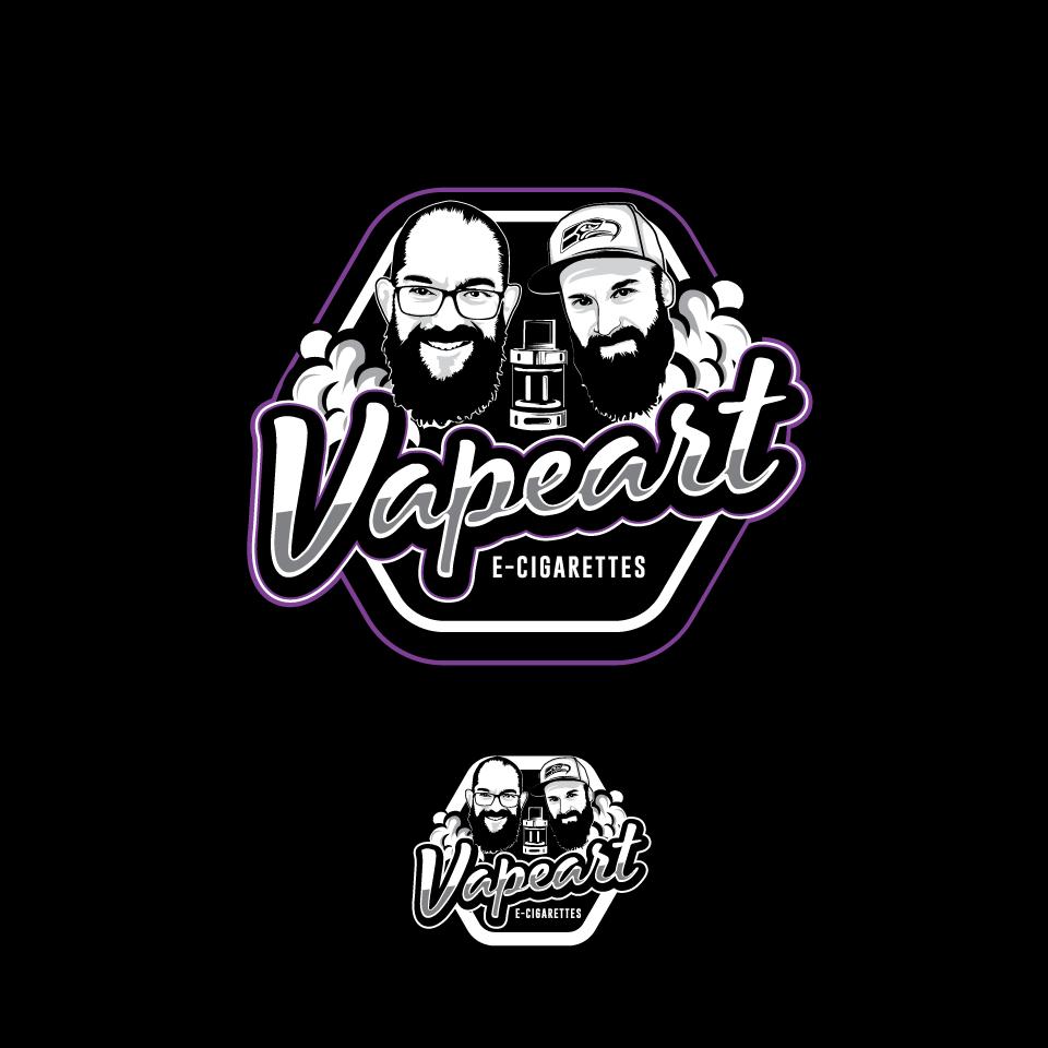 Neues Logo Design für Vaping Crew mit eigenen Liquids und Shop