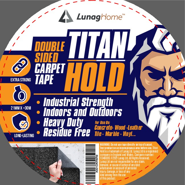 Packaging design for a new rugged DIY product range - Super Strong adhesive product
