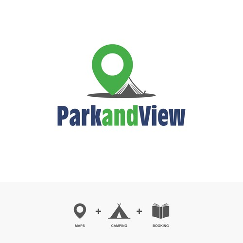 Concept Logo Park and View