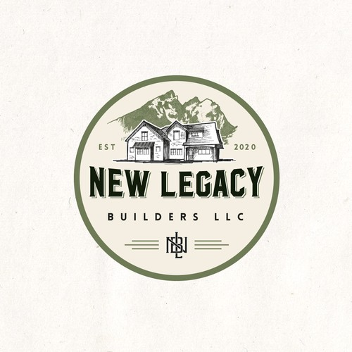 Handdrawn concept fot New Legacy Builders