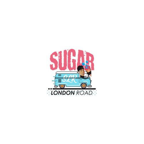 sugar ice cream logo