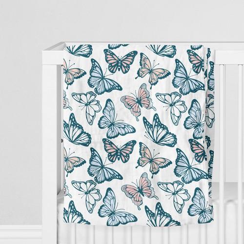 Girly patterndesign for baby blankets
