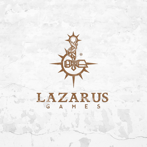 Logo concept for Lazarus Games