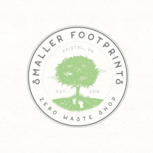 Logo for zero waste shop