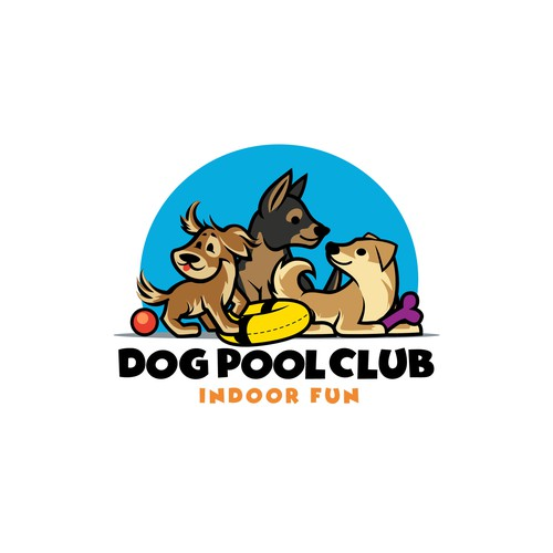 Dog Pool Club Logo