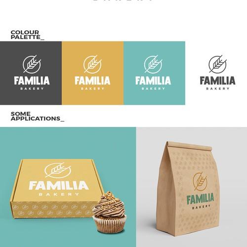 Logo concept for 'Familia' Bakery